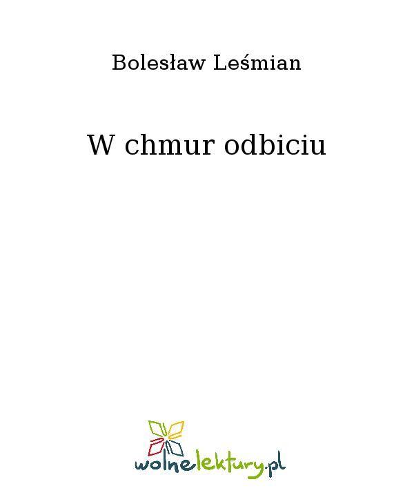 W chmur odbiciu - Ebook (Książka EPUB) do pobrania w formacie EPUB