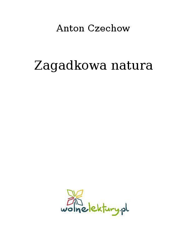 Zagadkowa natura - Ebook (Książka EPUB) do pobrania w formacie EPUB
