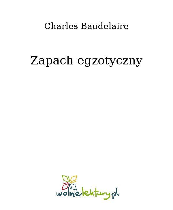 Zapach egzotyczny - Ebook (Książka EPUB) do pobrania w formacie EPUB