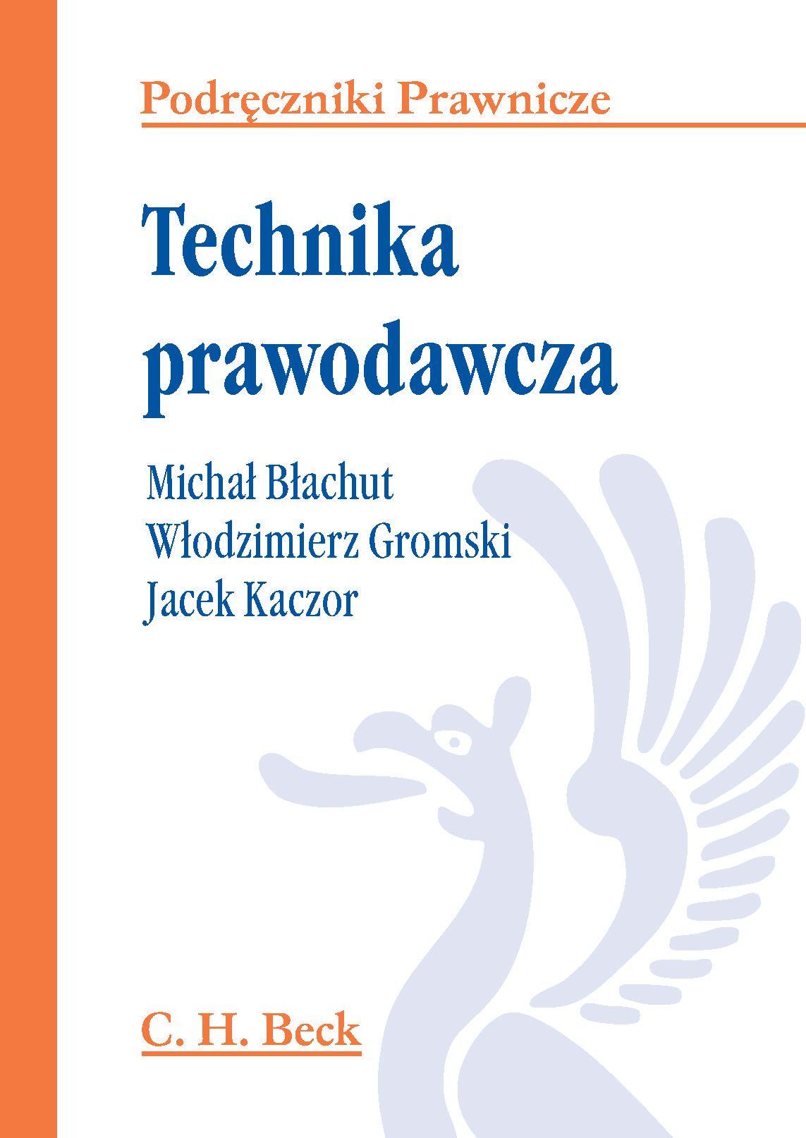 Technika prawodawcza - Ebook (Książka PDF) do pobrania w formacie PDF