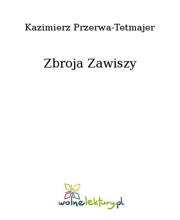 Zbroja Zawiszy - Ebook (Książka EPUB) do pobrania w formacie EPUB