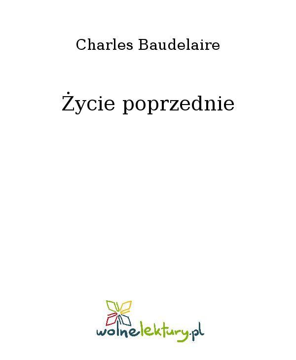 Życie poprzednie - Ebook (Książka EPUB) do pobrania w formacie EPUB