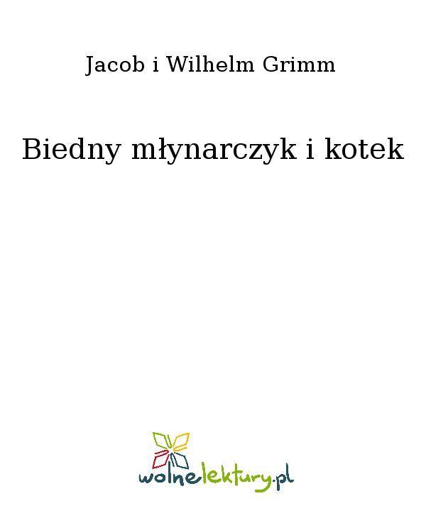 Biedny młynarczyk i kotek - Ebook (Książka EPUB) do pobrania w formacie EPUB