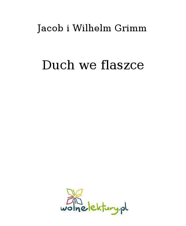 Duch we flaszce - Ebook (Książka EPUB) do pobrania w formacie EPUB