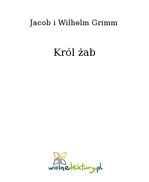 Król żab - Ebook (Książka EPUB) do pobrania w formacie EPUB