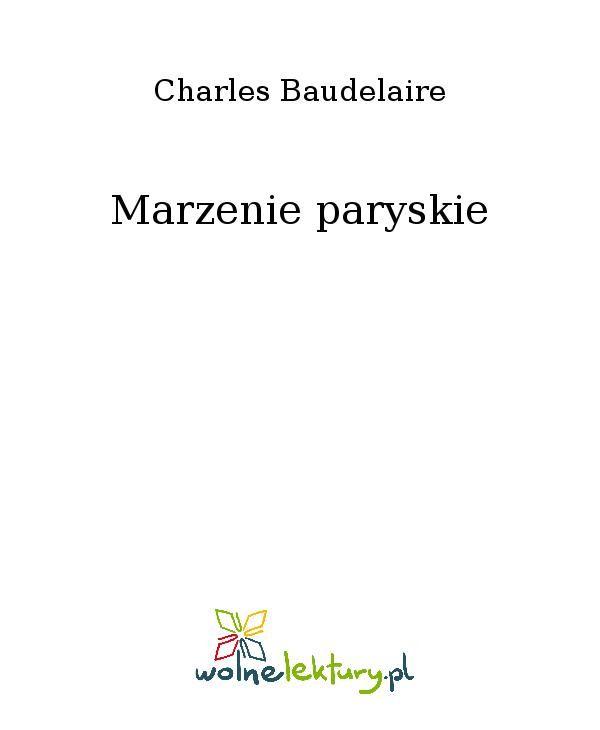 Marzenie paryskie - Ebook (Książka EPUB) do pobrania w formacie EPUB