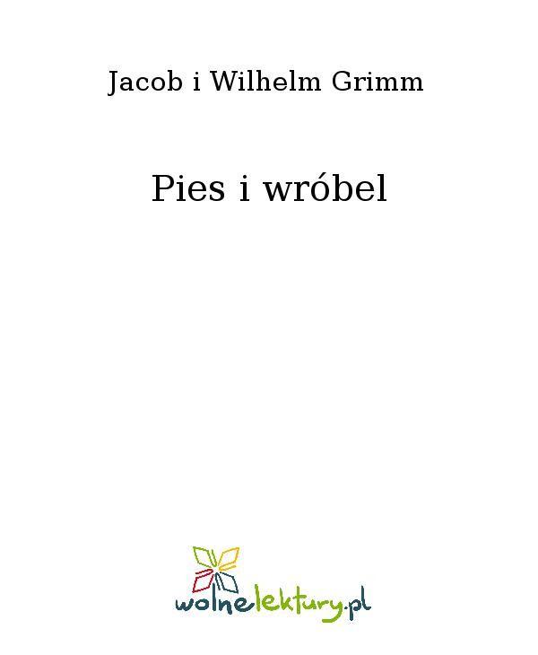 Pies i wróbel - Ebook (Książka EPUB) do pobrania w formacie EPUB