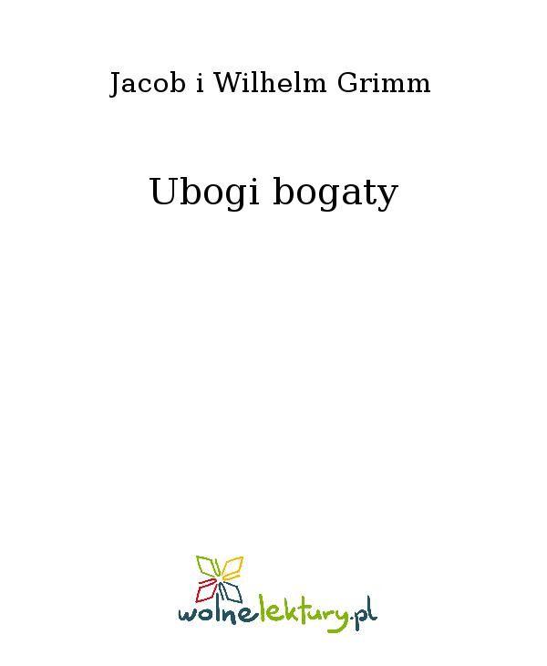 Ubogi bogaty - Ebook (Książka EPUB) do pobrania w formacie EPUB