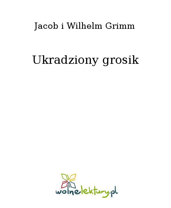 Ukradziony grosik - Ebook (Książka EPUB) do pobrania w formacie EPUB