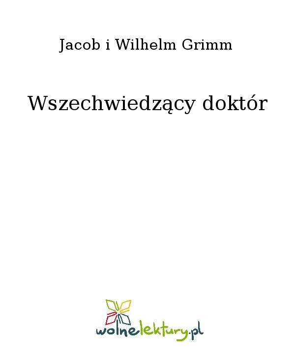 Wszechwiedzący doktór - Ebook (Książka EPUB) do pobrania w formacie EPUB