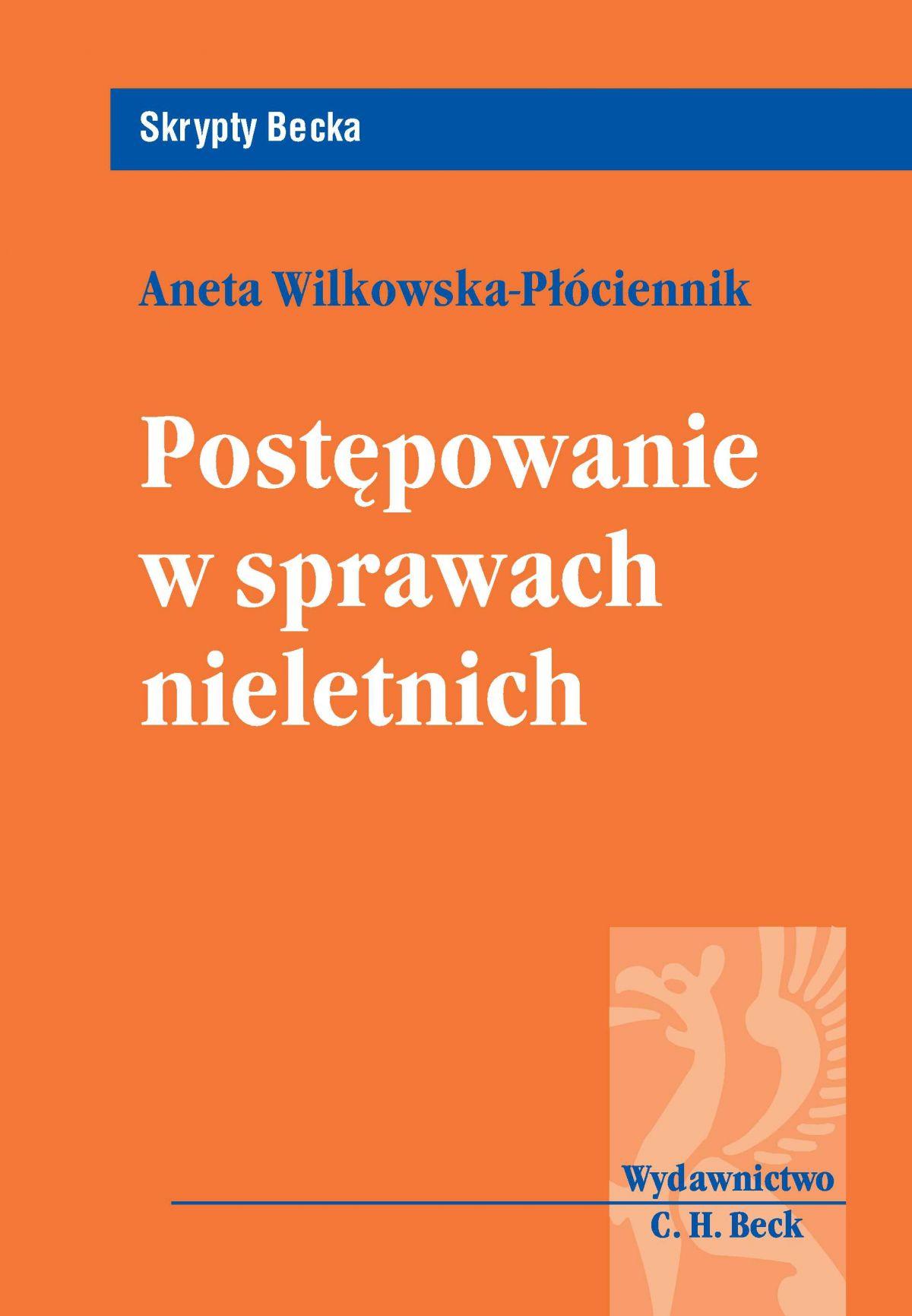 Postępowanie w sprawach nieletnich - Ebook (Książka PDF) do pobrania w formacie PDF