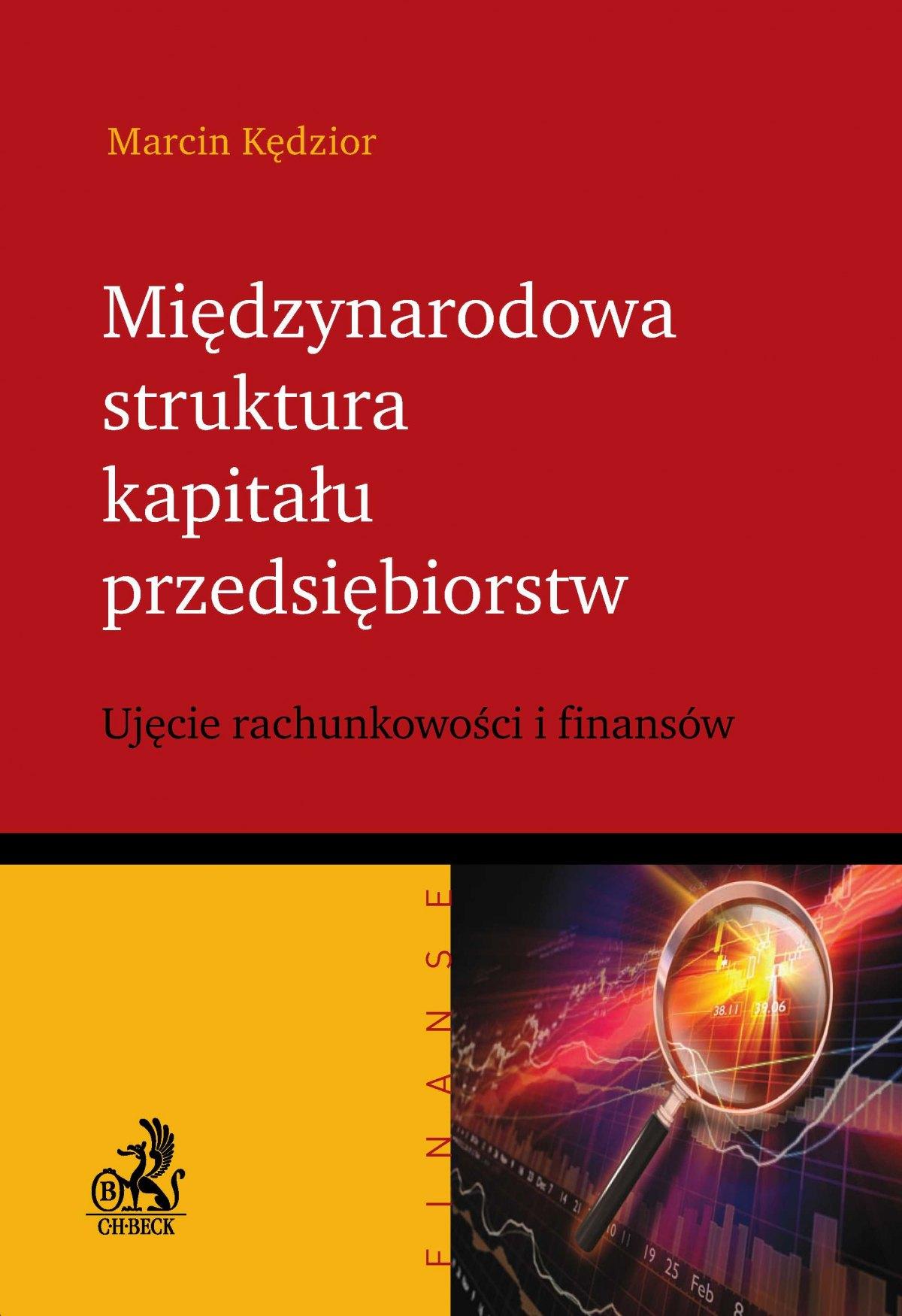 Międzynarodowa struktura kapitału przedsiębiorstw - Ebook (Książka PDF) do pobrania w formacie PDF