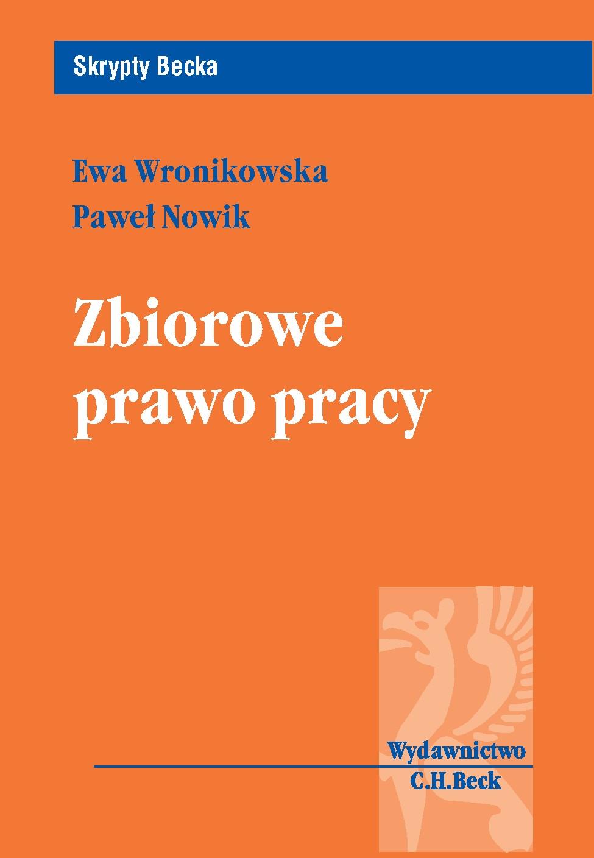 Zbiorowe prawo pracy - Ebook (Książka PDF) do pobrania w formacie PDF