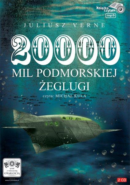 20 000 mil podmorskiej żeglugi - Audiobook (Książka audio MP3) do pobrania w całości w archiwum ZIP