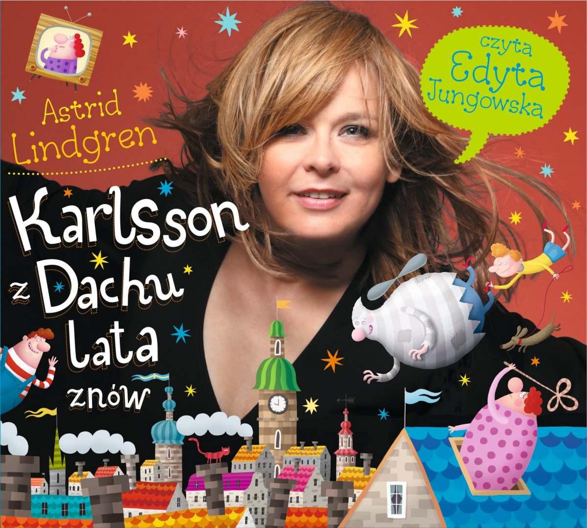 Karlsson z dachu lata znów - Audiobook (Książka audio MP3) do pobrania w całości w archiwum ZIP