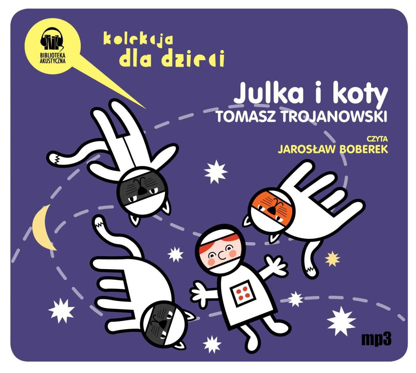 Julka i koty - Audiobook (Książka audio MP3) do pobrania w całości w archiwum ZIP