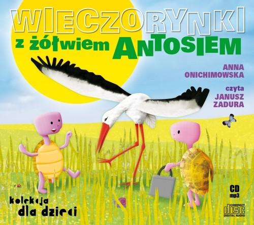 Wieczorynki z żółwiem Antosiem - Audiobook (Książka audio MP3) do pobrania w całości w archiwum ZIP