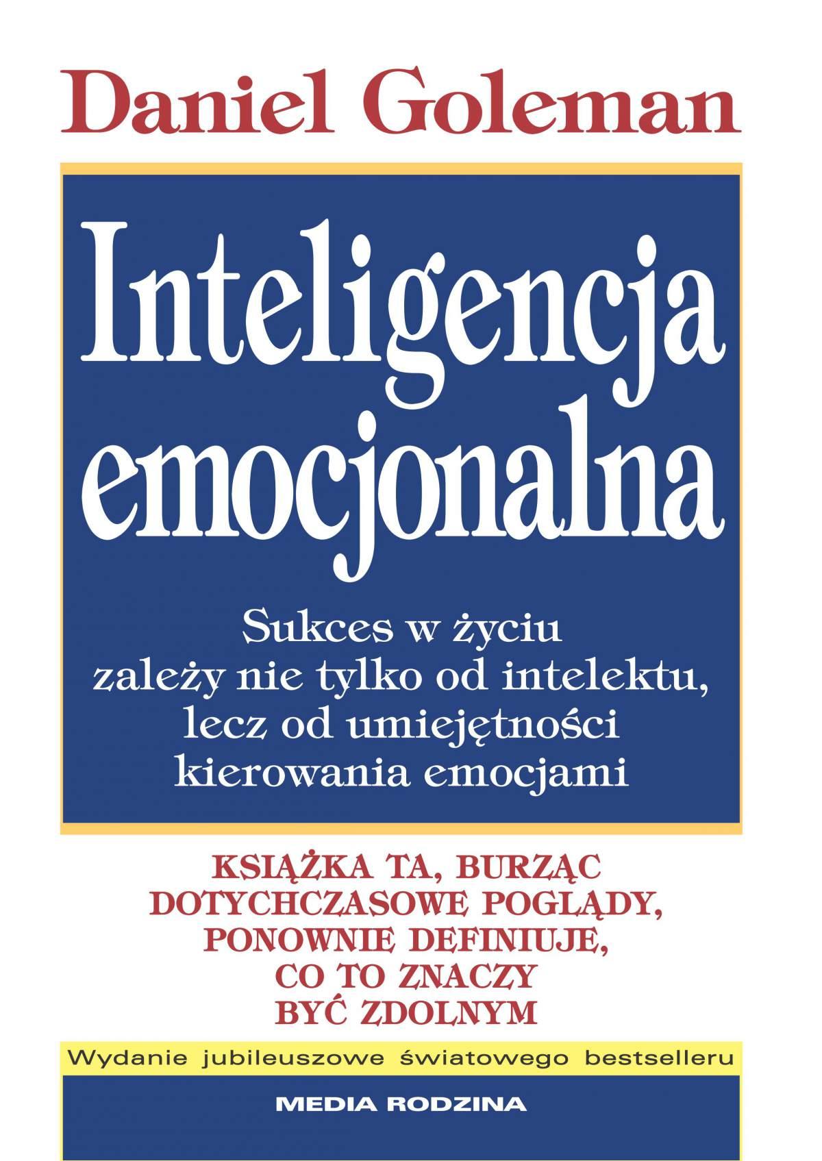 Inteligencja emocjonalna - Ebook (Książka EPUB) do pobrania w formacie EPUB