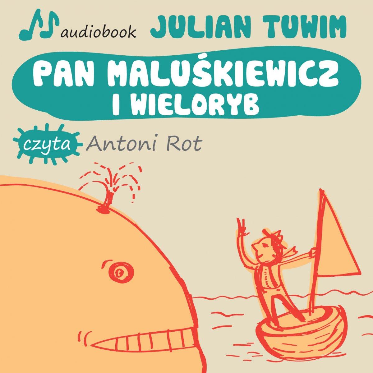 Pan Maluśkiewicz i wieloryb - Audiobook (Książka audio MP3) do pobrania w całości w archiwum ZIP