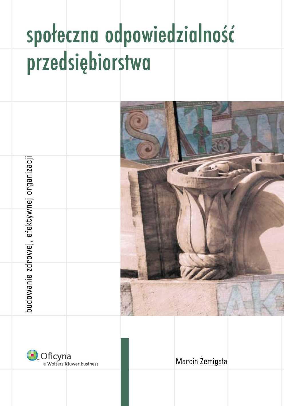 Społeczna odpowiedzialność przedsiębiorstwa - Ebook (Książka PDF) do pobrania w formacie PDF