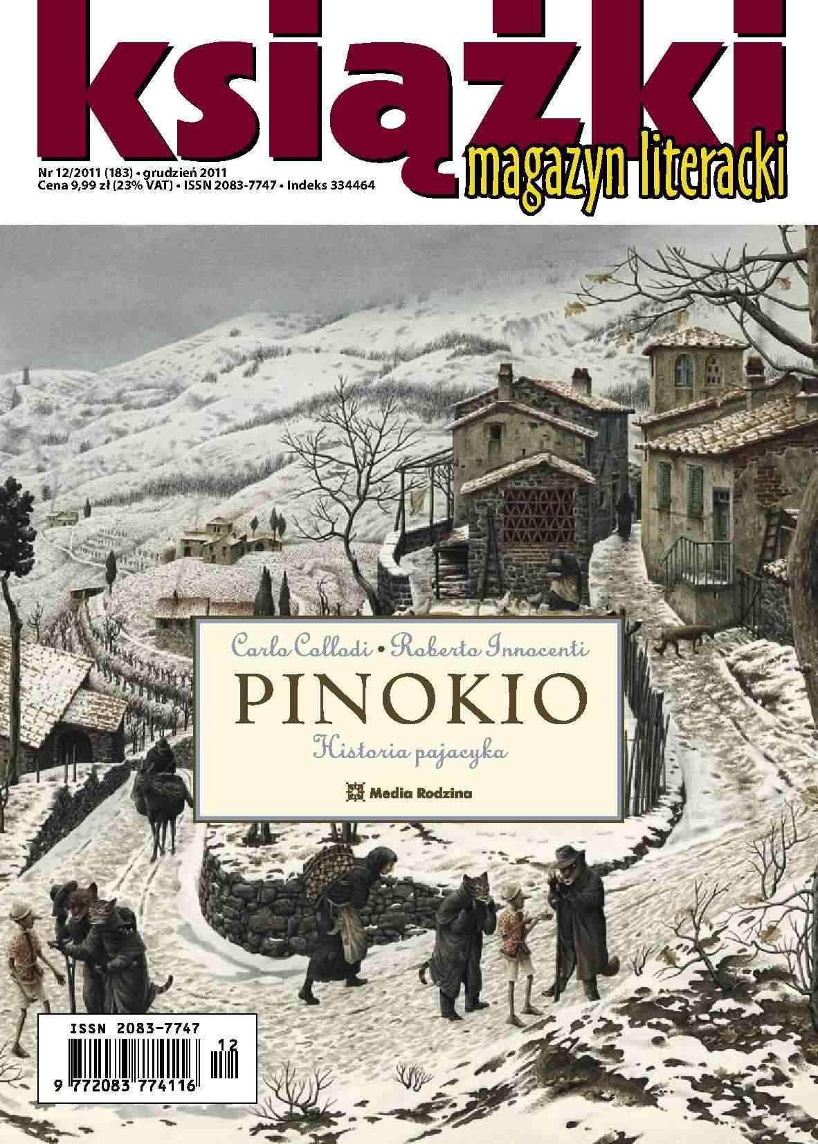 Magazyn Literacki KSIĄŻKI - nr 12/2011 (183) - Ebook (Książka PDF) do pobrania w formacie PDF