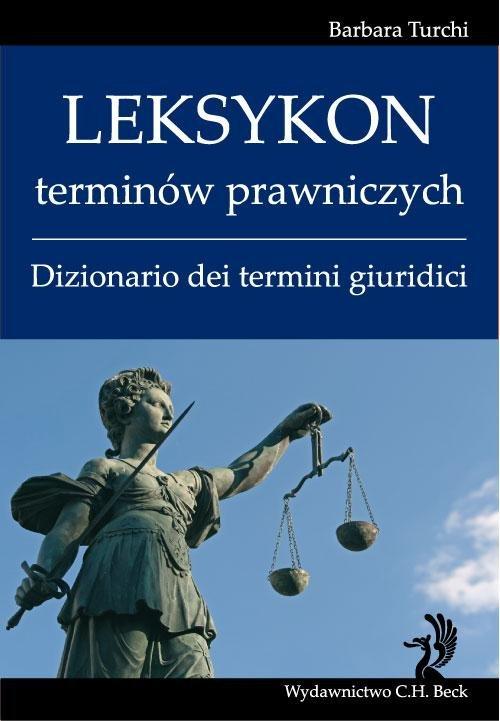 Leksykon terminów prawniczych (włoski) Dizionario dei termini giuridici - Ebook (Książka PDF) do pobrania w formacie PDF