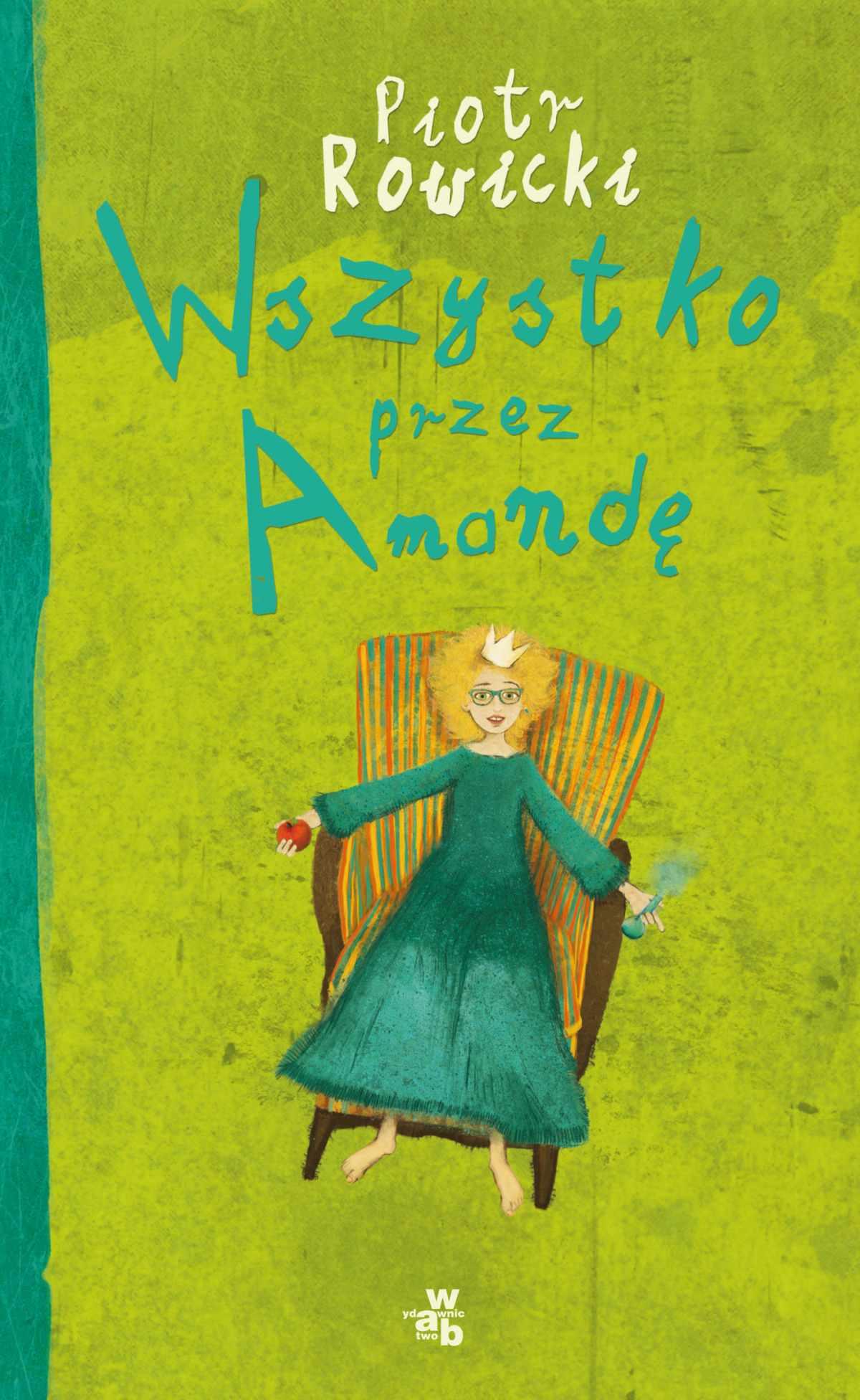 Wszystko przez Amandę - Ebook (Książka na Kindle) do pobrania w formacie MOBI