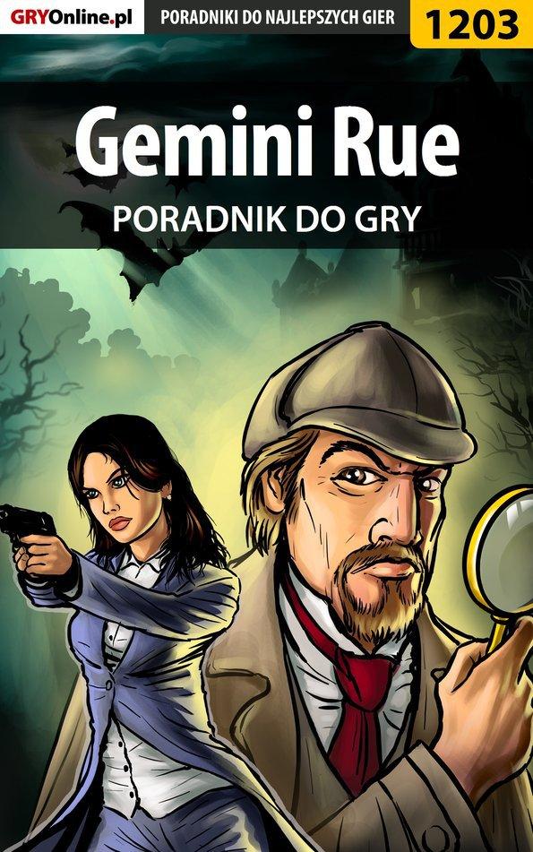 Gemini Rue - poradnik do gry - Ebook (Książka PDF) do pobrania w formacie PDF
