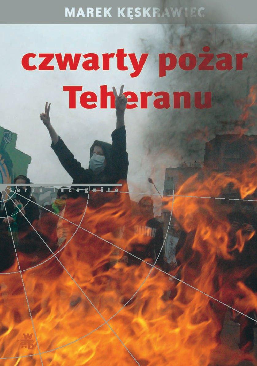 Czwarty pożar Teheranu - Ebook (Książka na Kindle) do pobrania w formacie MOBI
