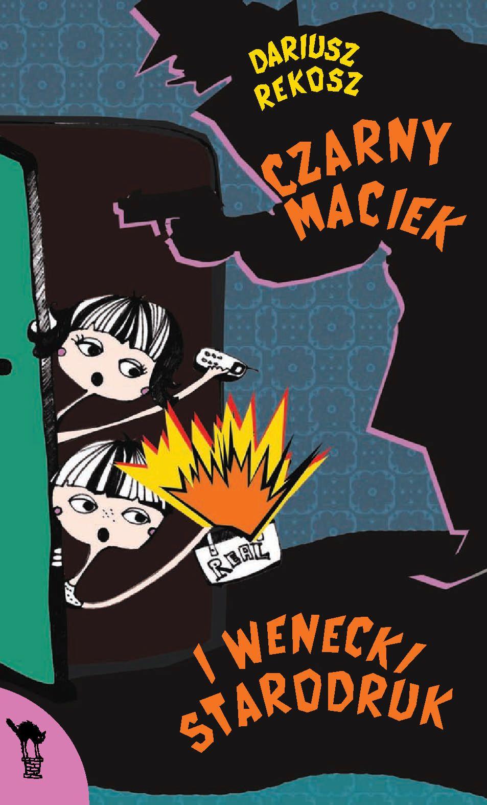 Czarny Maciek i wenecki starodruk - Ebook (Książka na Kindle) do pobrania w formacie MOBI