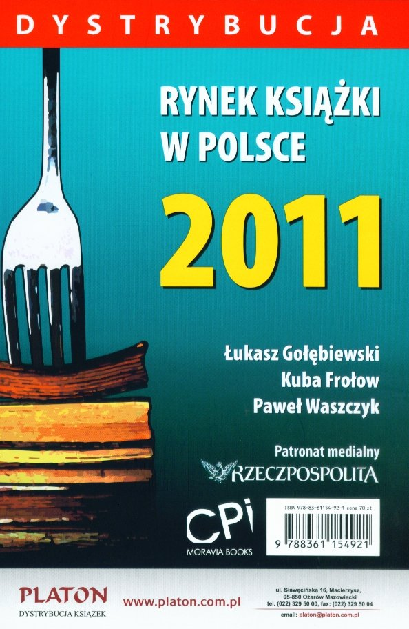 Rynek książki w Polsce 2011. Dystrybucja - Ebook (Książka PDF) do pobrania w formacie PDF