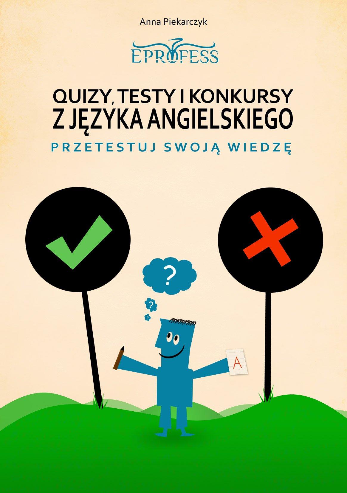 Quizy, Testy i Konkursy z Języka Angielskiego - Ebook (Książka PDF) do pobrania w formacie PDF