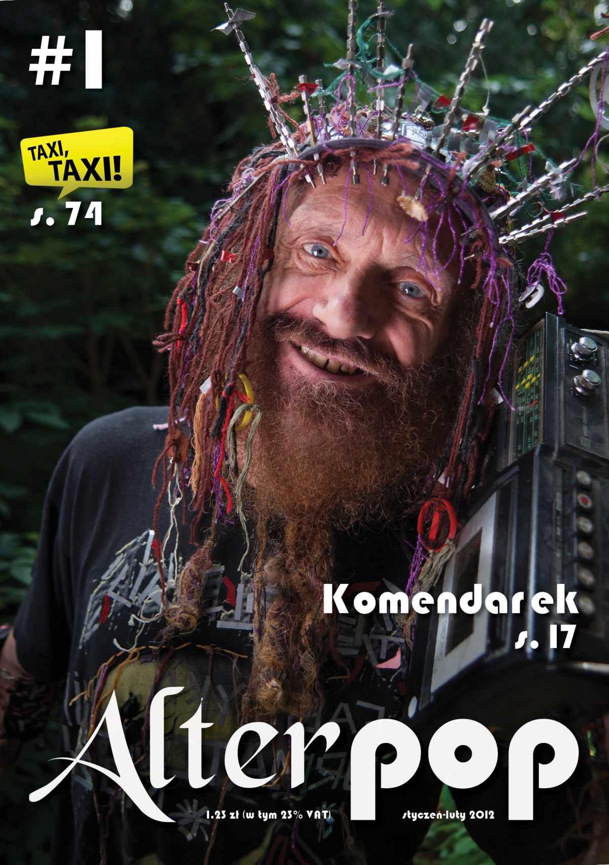 AlterPOP - numer 1 - styczeń-luty 2012 - Ebook (Książka PDF) do pobrania w formacie PDF