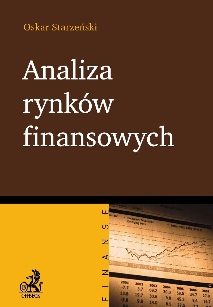 Analiza rynków finansowych - Ebook (Książka PDF) do pobrania w formacie PDF