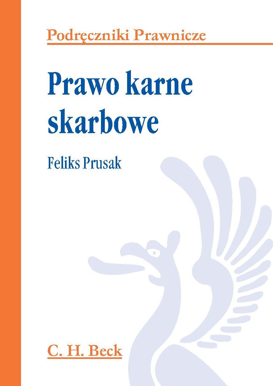 Prawo karne skarbowe - Ebook (Książka PDF) do pobrania w formacie PDF