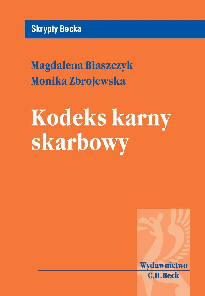 Kodeks karny skarbowy - Ebook (Książka PDF) do pobrania w formacie PDF