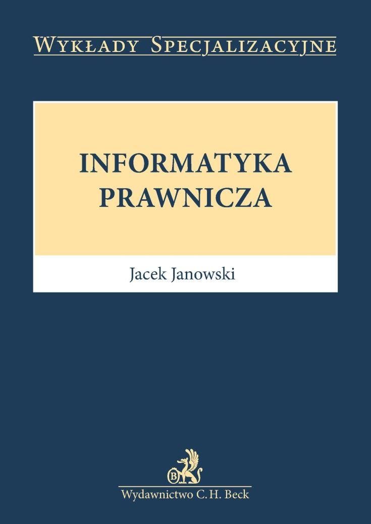 Informatyka prawnicza - Ebook (Książka PDF) do pobrania w formacie PDF