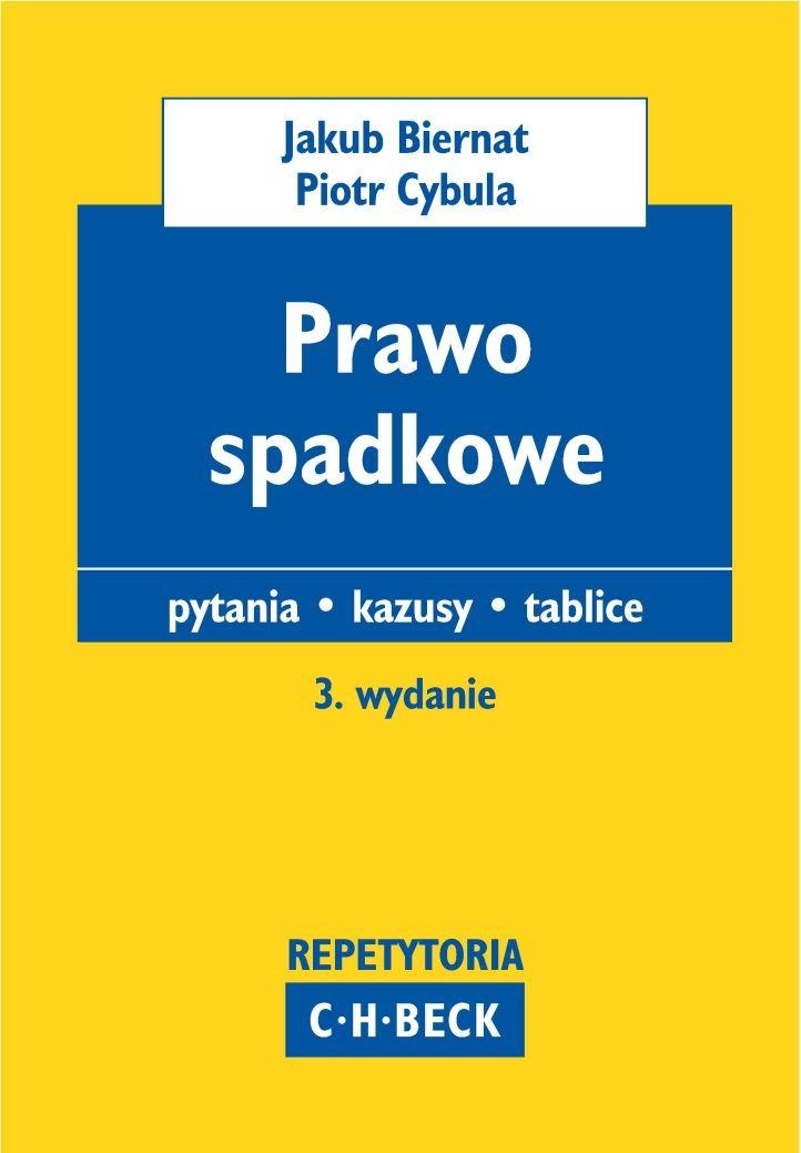 Prawo spadkowe Pytania. Kazusy. Tablice - Ebook (Książka PDF) do pobrania w formacie PDF