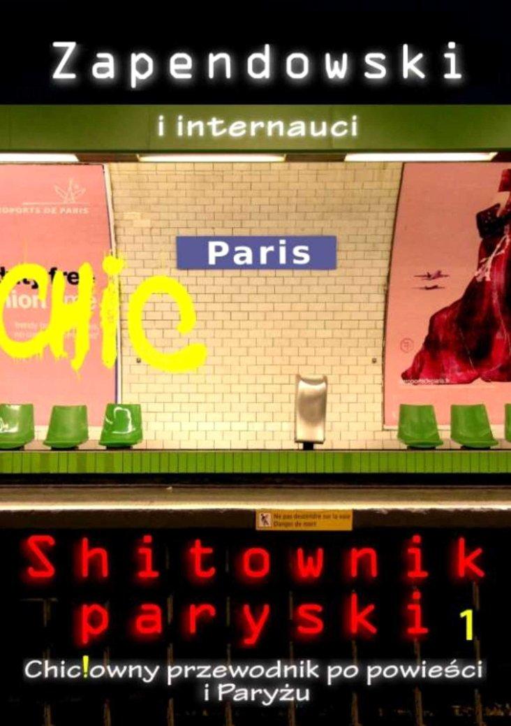 Shitownik paryski. Chic!owny przewodnik po powieści i Paryżu - Ebook (Książka PDF) do pobrania w formacie PDF