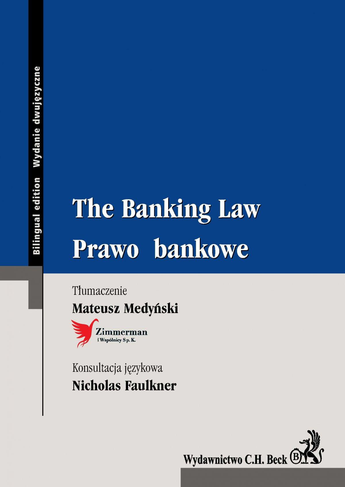 The Banking Law. Prawo bankowe - Ebook (Książka PDF) do pobrania w formacie PDF