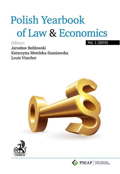 Polish Yearbook of Law and Economics. Vol. 1 (2010) - Ebook (Książka PDF) do pobrania w formacie PDF