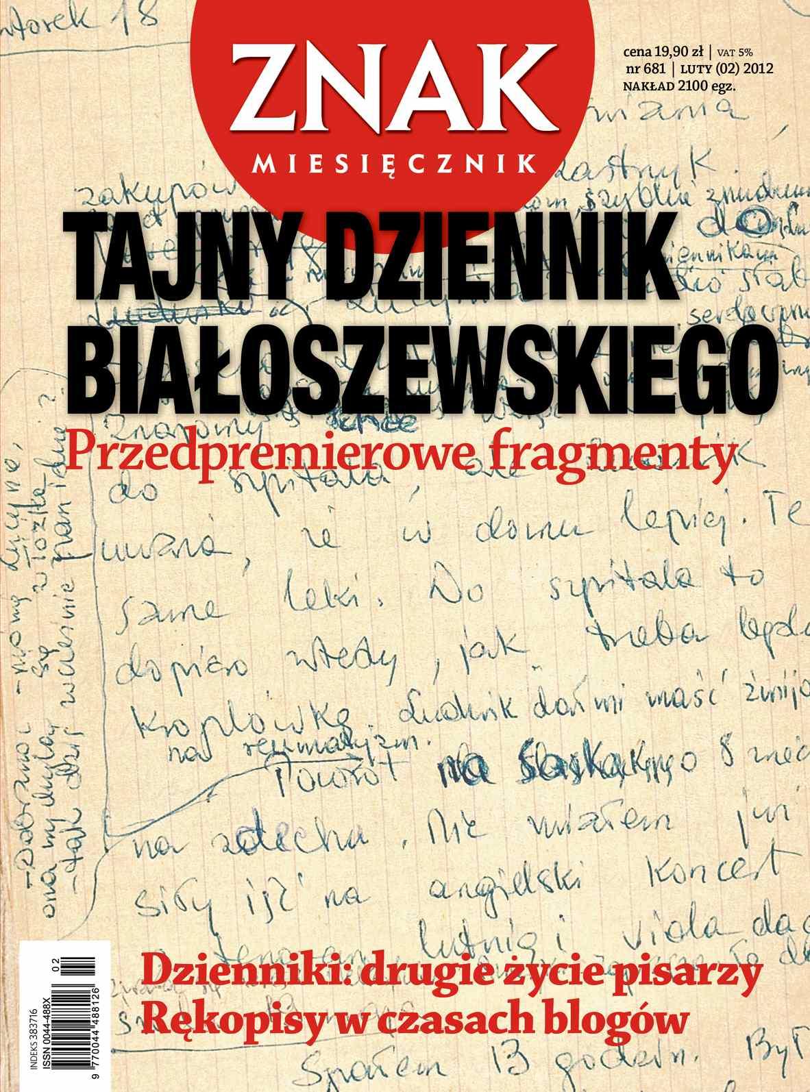 Miesięcznik Znak. Luty 2012 - Ebook (Książka PDF) do pobrania w formacie PDF