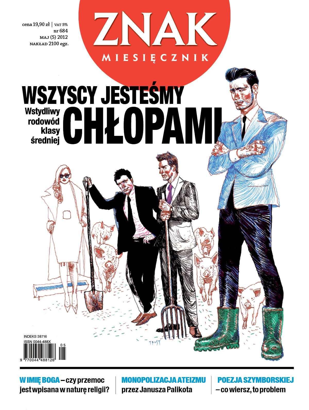 Miesięcznik Znak. Maj 2012 - Ebook (Książka PDF) do pobrania w formacie PDF