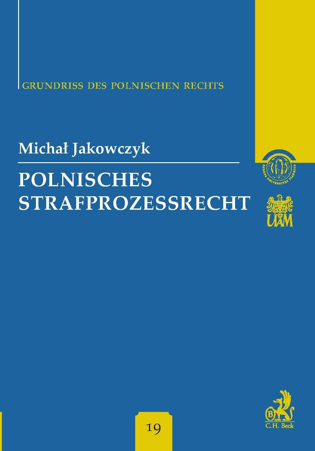 Polnisches Strafprozessrecht Band 19 - Ebook (Książka PDF) do pobrania w formacie PDF