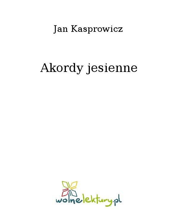 Akordy jesienne - Ebook (Książka na Kindle) do pobrania w formacie MOBI