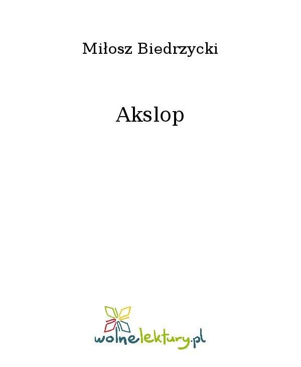 Akslop - Ebook (Książka na Kindle) do pobrania w formacie MOBI