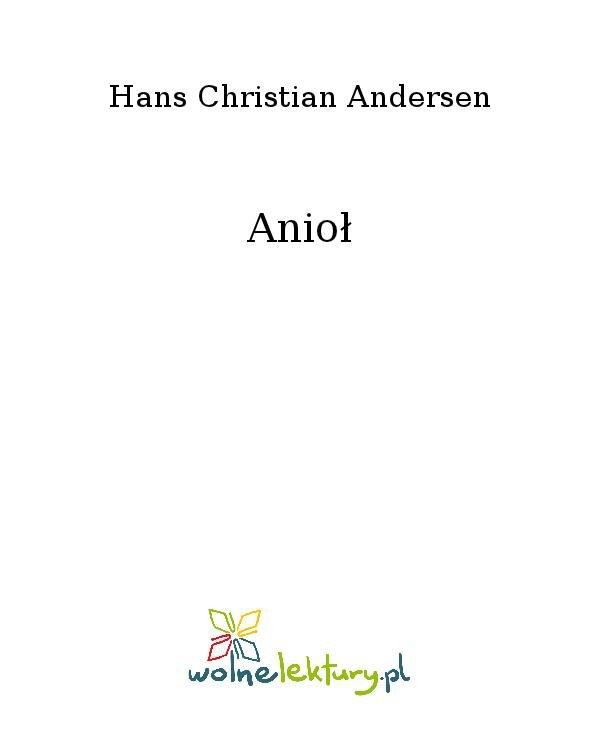 Anioł - Ebook (Książka na Kindle) do pobrania w formacie MOBI