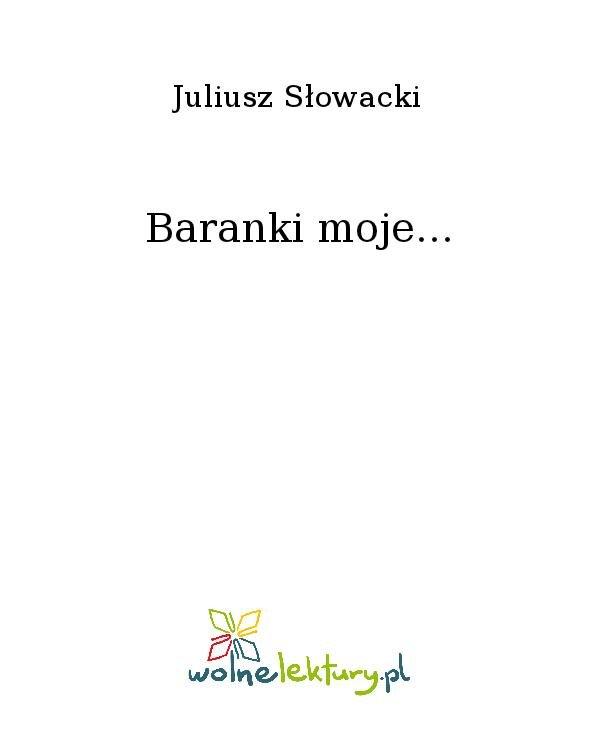 Baranki moje... - Ebook (Książka na Kindle) do pobrania w formacie MOBI