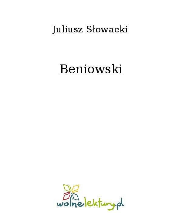 Beniowski - Ebook (Książka na Kindle) do pobrania w formacie MOBI