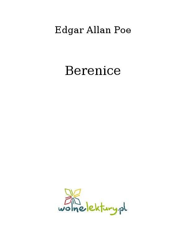 Berenice - Ebook (Książka na Kindle) do pobrania w formacie MOBI